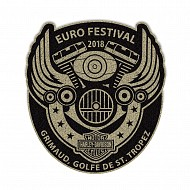Euro Festival Wings Patch  2018
