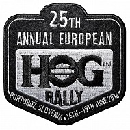 25th H.O.G Rally Patch 2016