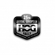 25th H.O.G Rally Pin 2016