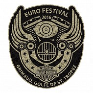 Euro Festival Wings Patch 2016